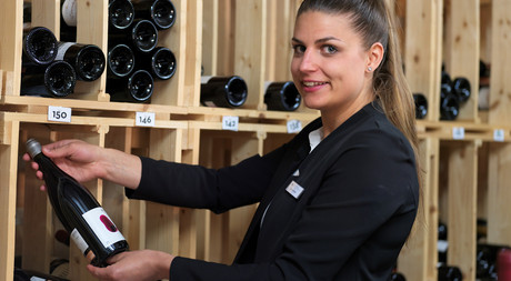 Gianna Beeli, Restaurant manager at Hotel Castell in Zuoz